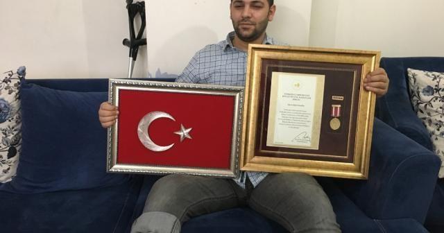 Bacağı kesilen 15 Temmuz gazisinden 'Kızıl Elma' açıklaması
