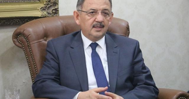 Bakan Özhaseki kentsel dönüşümün önemine dikkat çekti