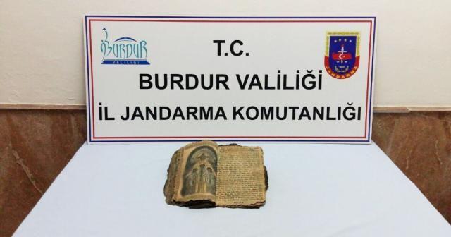 Bizans dönemine ait dini kitap ele geçirildi