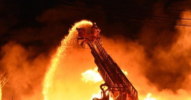 Çanakkale'de korkutan yangın !