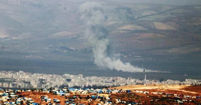 Cinderes'e yoğun hava bombardımanı
