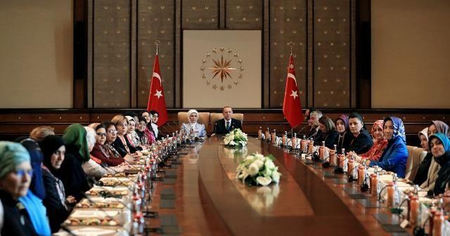 Erdoğan, ''Vicdan Konvoyu'' temsilcilerini kabul etti