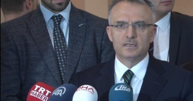 Maliye Bakanı Naci Ağbal'dan Moody's açıklaması