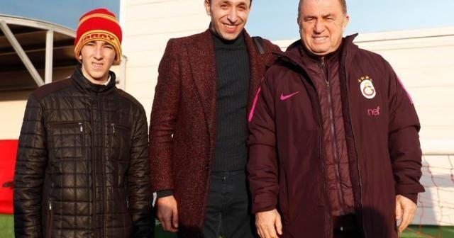 Murat Sökük Galatasaray antrenmanında