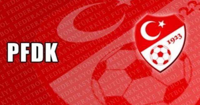 PFDK'dan Beşiktaş ve Galatasaray'a ceza