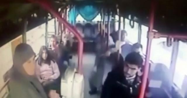 Şehit annesine hakaret eden şoför tahliye edildi