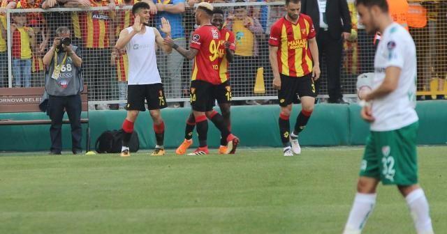 Göztepe Bursaspor'u devirdi