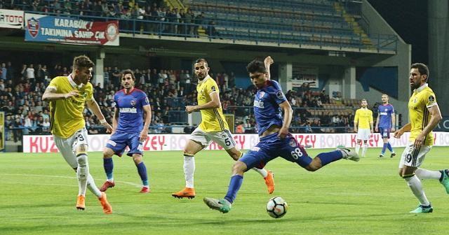 Fenerbahçe, Karabük'te gol oldu yağdı