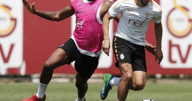Galatasaray Göztepe maçı hazırlıklarını sürdürdü