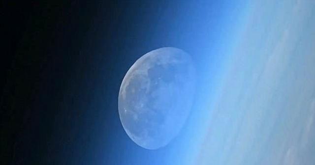 Uzaydan Ay böyle görünüyor