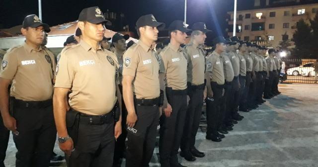 Ankara'da gece bekçileri işbaşı yaptı