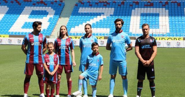 İşte Trabzonspor'un yeni formaları