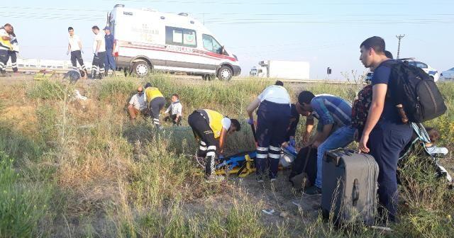 Ankara'da otobüs kazası: 15 yaralı