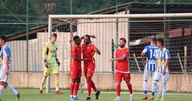 Evkur Yeni Malatyaspor Romanya ekibini devirdi