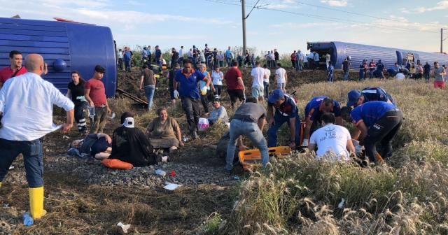 Tren kazasına ilişkin başsavcılıktan açıklama