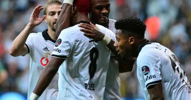 Beşiktaş işi ilk yarıda bitirdi