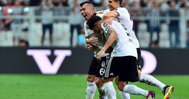 Beşiktaş'tan ilk yarıda 2 gol