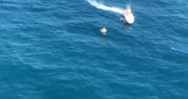 Şile açıklarında 2 kişi kurtarıldı