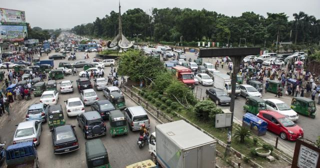 Trafik kuralının olmadığı ülke Bangladeş