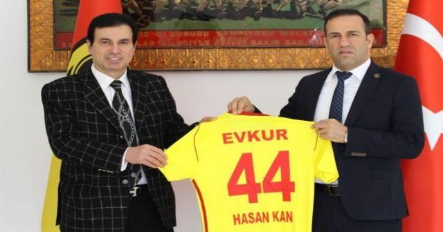 Yeni Malatyaspor sponsoruyla yeniden anlaştı