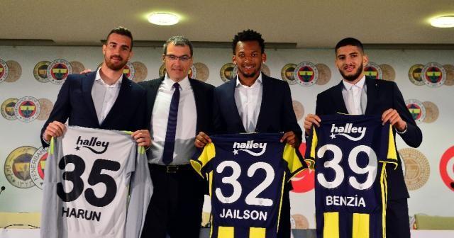 Fenerbahçe'nin yeni transferleri imzayı attı