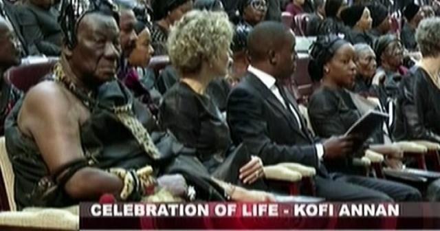 Kofi Annan son yolculuğuna uğurlanıyor