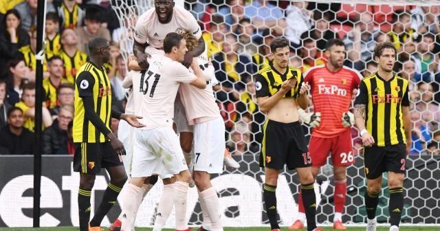 Manchester United Watford'un yenilgisizliğine son verdi