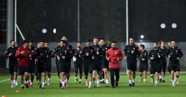 A Milli Takım Rusya maçı hazırlıklarını tamamladı