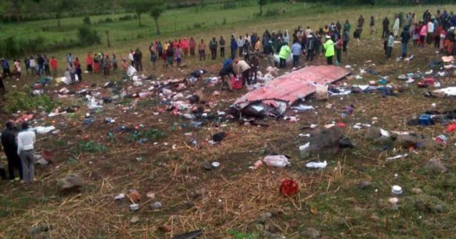 Kenya'da otobüs kazası: 50 ölü