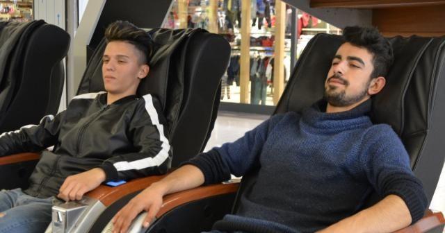 """""""Masaj koltuğunda felç kalabilirsiniz"""""""