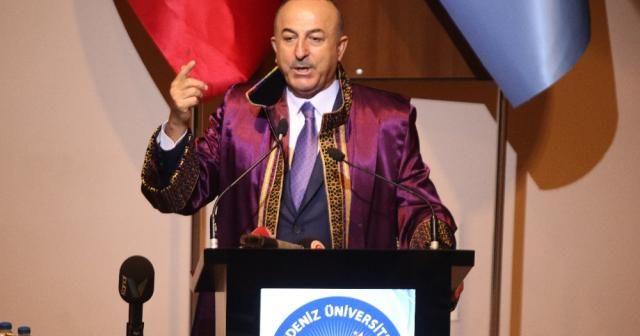 """Bakan Çavuşoğlu'ndan """"AB"""" açıklaması"""