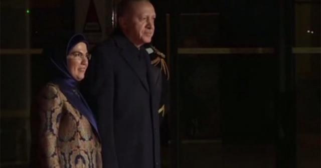 Erdoğan yemeğe katıldı