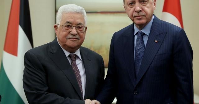 Filistin Devlet Başkanı Abbas'la telefonda görüştü
