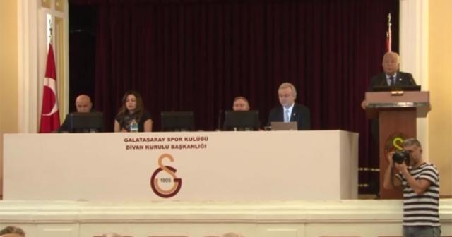 Galatasaray'da kasım ayı divanı başladı