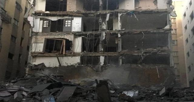 İsrail Gazze'de 7 binayı bombaladı: 4 şehit