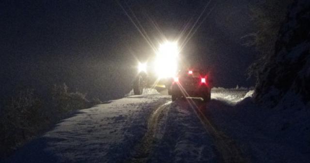 Kar nedeniyle mahsur kalan 22 kişi kurtarıldı