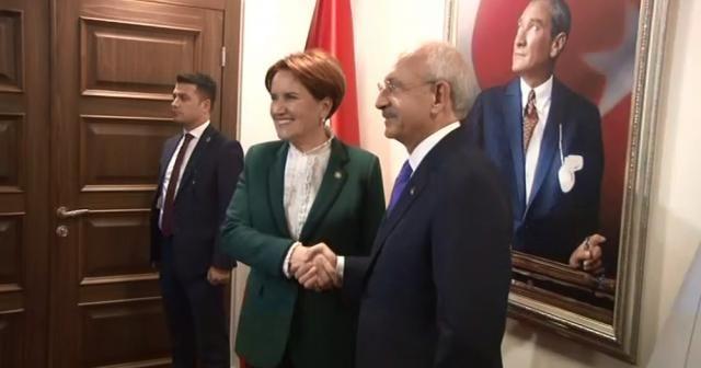 Kılıçdaroğlu- Akşener görüşmesi sonrası ortak açıklama