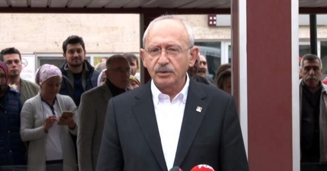 Kılıçdaroğlu: Başımız sağ olsun