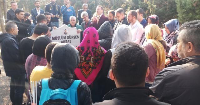 Müslüm Gürses mezarı başında dualarla anıldı