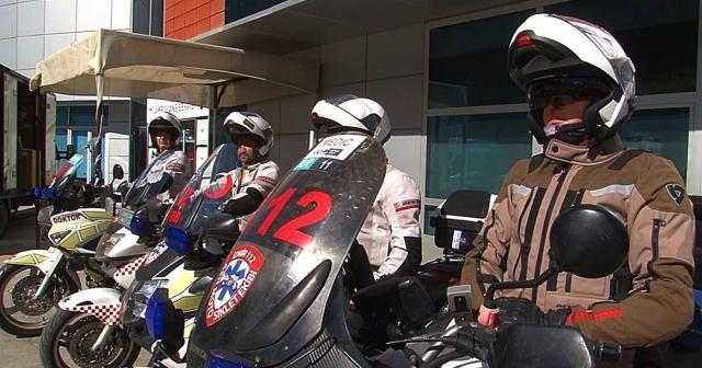 Onlar 112'nin motorize kahramanları