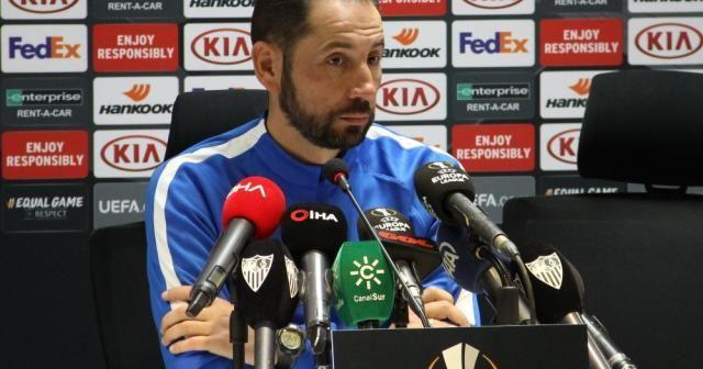 Sevilla Teknik Direktörü Machin temkinli konuştu