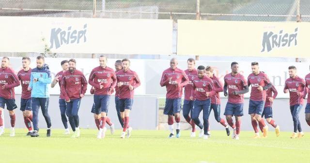 Trabzonspor'da Fenerbahçe mesaisi sürdü