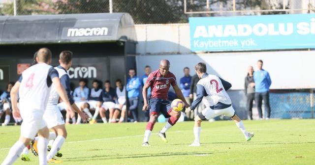 Trabzonspor, U21 takımı ile hazırlık maçı yaptı