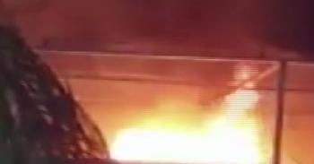 İsrail savaş uçakları televizyon kanalına saldırdı