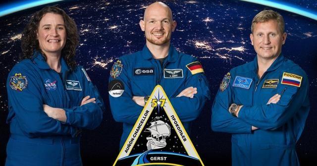 3 astronot Dünya'ya döndü