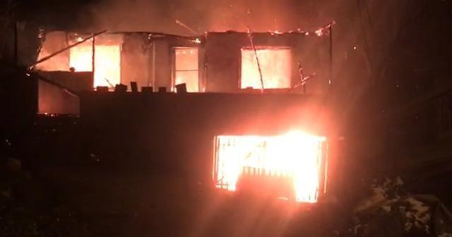 3 kardeşin öldüğü yangının görüntüleri ortaya çıktı