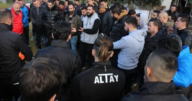 Altay'ın kötü gidişine taraftarlardan tepki