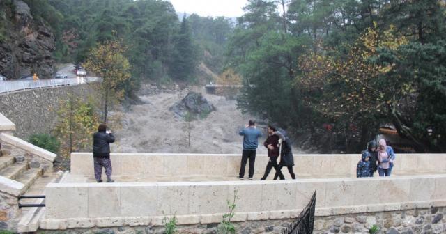 Antalya kuvvetli yağış