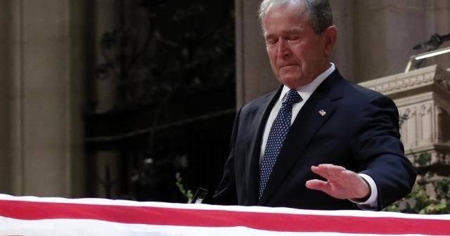 Baba Bush için devlet töreni düzenlendi