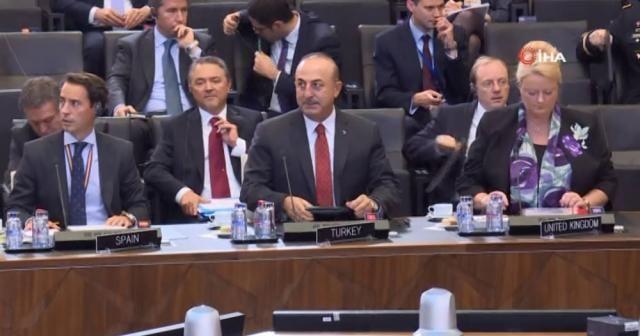 Bakan Çavuşoğlu, NATO Dışişleri Bakanları Toplantısı'nda